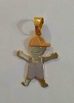 Colgante de oro \'Niño\'