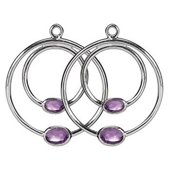 Pandora hanging ring Amethyst 290606 AM 290606AM