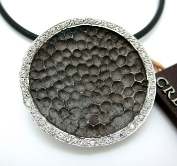 colgante de plata con circonitas 406436114 Cresber