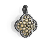 STERLING BATH COLOR AND ZIRCONITAS 9210CN PENDANT SILVER Marina Garcia