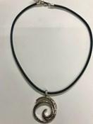 Collar CL4727P Top Silver