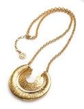 PENDANT NECKLACE GOLD PLATED SRA BIJOUX VICEROY B1055C000-06