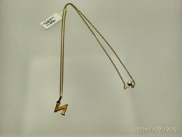 Collar Colgante de plata 925 color oro N - Artesanal - JP19