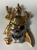 PENDANT NECKLACE GOLD - OWN - 2159-PIRATE