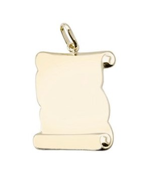 PENDANT NECKLACE GOLD - OWN - 3319-17X20MM
