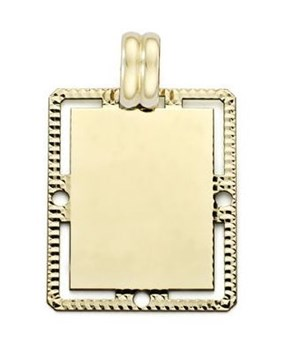 PENDANT NECKLACE GOLD - OWN - 3407-21X27MM