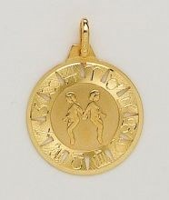 PENDANT NECKLACE GOLD - OWN - 3429-17X17MM
