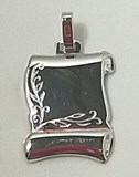 PENDANT NECKLACE SILVER - OWN - 2129-20X24MM