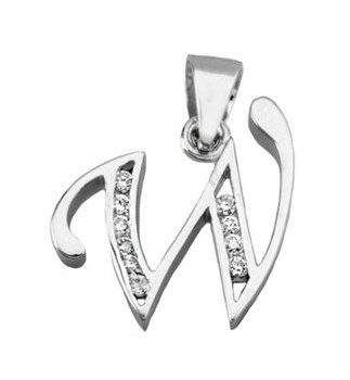 PENDANT NECKLACE SILVER - OWN - 3292-19X15MM