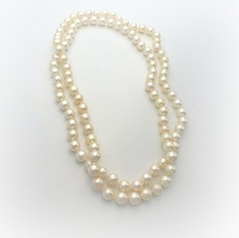NECKLACE WITH PEARLS CULTURED FRESHWATER QUALITY
