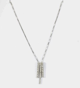 DIAMOND LEVOC1037 NECKLACE