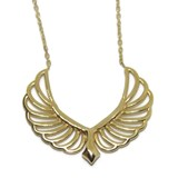 COLLAR YELLOW GOLD 18KTES.42CM. MOM YOU ARE MY ANGEL! Never say never 75004543
