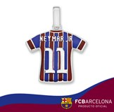 COLLIER EN ARGENT T-SHIRT NEYMAR JR 10-157