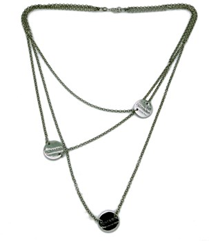 DEMARIA SILVER NECKLACE De María HR-C008