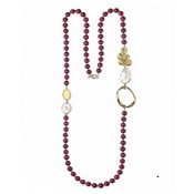 NECKLACE DURAN EXQUSE RUBELLITE