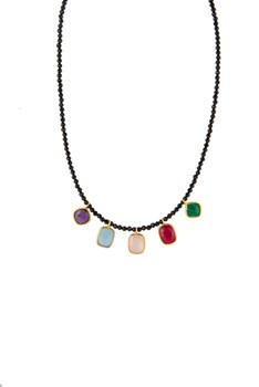COLLIER SPINELLE CHARMES �CHAT ARGENT ON27 PATRICIA ARL� PATRICIA ARLÀ