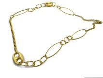 18 CARAT GOLD LONG NECKLACE