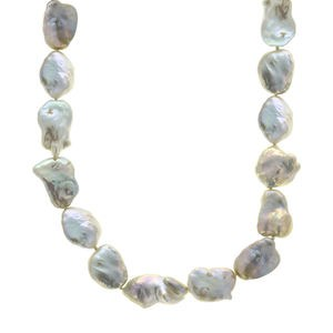 LONG NECKLACE CULTURED BAROQUE KEISHI PEARLS