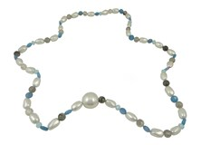 COLLAR WOMEN DEVOUT AND LOMBA CDL193876-WHITE/GREY/BLUE 8435334800613 DEVOTA & LOMBA Devota & Lomba
