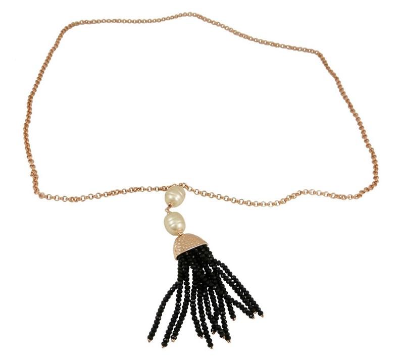 Collar Mujer DEVOTA Y LOMBA CDL195144-BLACK 8435334800644 Devota & Lomba