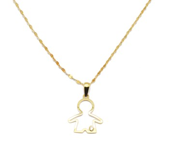 NECKLACE GOLD BREAST