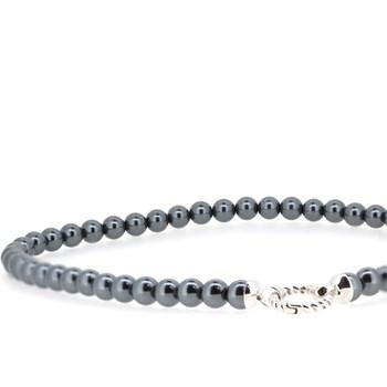 Collar perlas azules Zinzi  ZIC401ZP