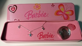 COLLIER ARGENT - PROPRE - 2656-BARBIE