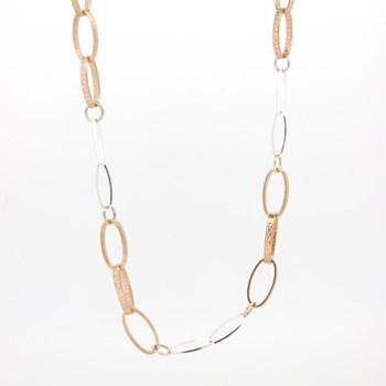Collar plata ovalos  15SR-7 Stradda