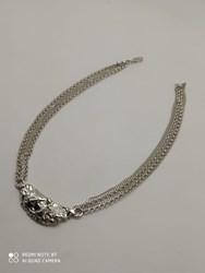 Collar plata con centro barroco B-79