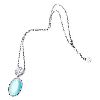 NECKLACE STERLING SILVER RHODIUM-PLATED AND GEM MRS JEWELS VICEROY 1192C000-43