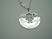 NECKLACE SILVER MOTHER