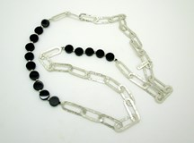 COLLIER ARGENT STYLIANO