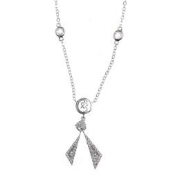 Collar rombo partido plata R42156Z Cerruti 1881