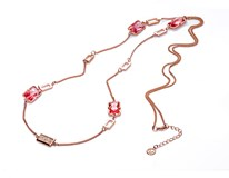 COLLAR ROSADO Y CRISTAL SRA FASHION Viceroy 3134C19019