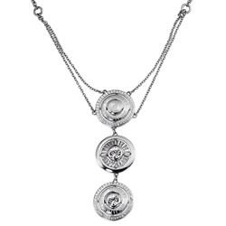 Collar Señora Composición: Zirconitas + Acero + Plata R41082Z Cerruti 1881