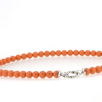 Collier Zinzi Orange  ZIC 401K