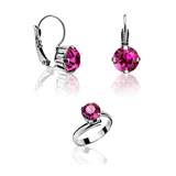 SET KELIA EARRINGS AND RING AC-N7F-30016F ABBAN COHEN