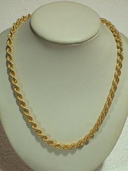 1er collier dentelle dorée de droit