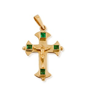 CROSS OF EMERALDS