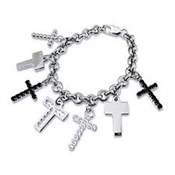 NECKLACE CROSSES WOMEN D&G D&G