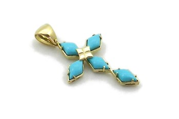 CROIX OR TURQUOISE