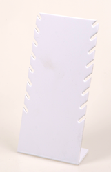 DIPLAY PARA 8 COLLARES PVC BLANCO CO8B Superb