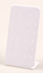 DISPLAY PARA 10 PENDIENTES PVC BLANCO PE8PB Superb