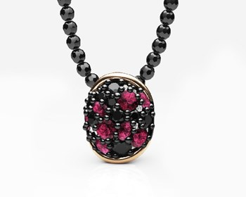 SPINEL TOPAZ NECKLACE