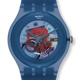WATCH SWATCH ORIGINALS SUON102 BLUE GREY