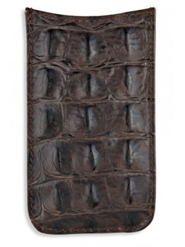CASE IPHONE 4 CROCODILE ACC34 Plata de palo