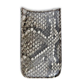 FUNDA IPHONE 5 SERPIENTE ACC48 Plata de palo
