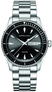 WATCH HAMILTON JAZZMASTER SEAVIEW DAY DATE QUARTZ H37511131