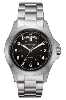 MONTRE HAMILTON KHAKI KING QUARTZ H64451133