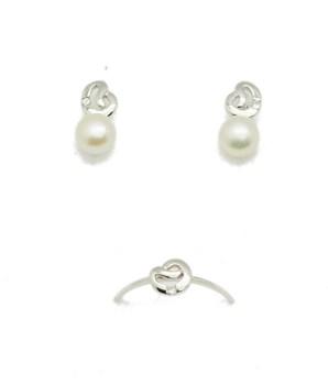 Combiné de diamants boucles d\'oreilles or jeu anneau